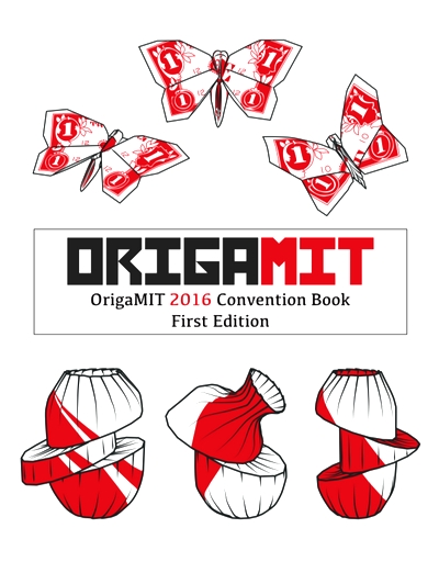Cover of OrigaMIT 2016 Convention Book