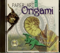 Cover of Paper Art: Origami Vol. 1 (CD-ROM) by Steve Matheson