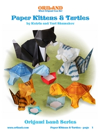 Cover of Paper Kittens and Turtles by Katrin and Yuri Shumakov