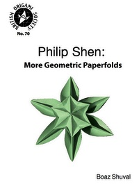 Cover of Philip Shen: More Geometric Paperfolds by Boaz Shuval
