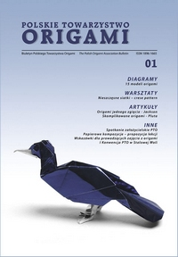 Cover of Polish Origami Association Newsletter 1