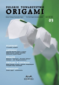 Cover of Polish Origami Association Newsletter 3