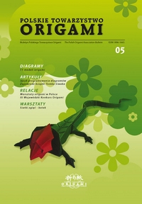 Cover of Polish Origami Association Newsletter 5