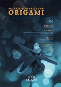 Cover of Polish Origami Association Newsletter 6