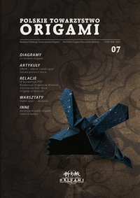 Cover of Polish Origami Association Newsletter 7