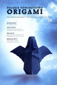 Cover of Polish Origami Association Newsletter 8