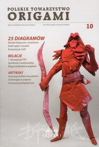 Polish Origami Association Newsletter 10 book cover