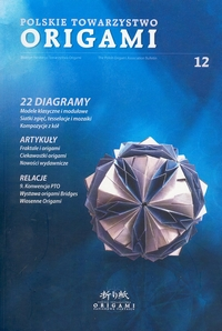 Polish Origami Association Newsletter 12 book cover