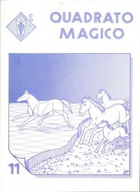 Cover of Quadrato Magico Magazine 11