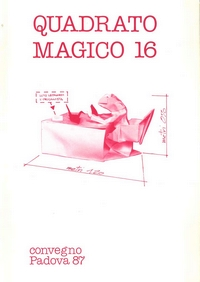 Cover of Quadrato Magico Magazine 16