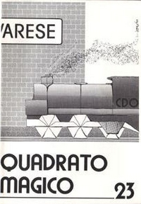 Cover of Quadrato Magico Magazine 23