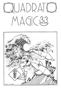 Cover of Quadrato Magico Magazine 33