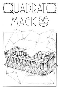 Cover of Quadrato Magico Magazine 36