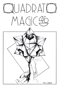 Cover of Quadrato Magico Magazine 46