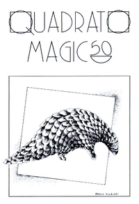 Cover of Quadrato Magico Magazine 50