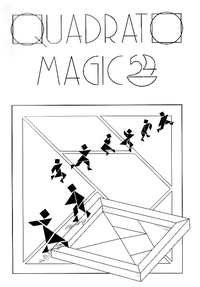 Cover of Quadrato Magico Magazine 54