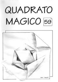 Cover of Quadrato Magico Magazine 59