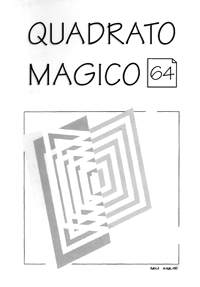 Cover of Quadrato Magico Magazine 64
