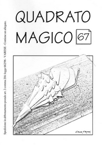 Cover of Quadrato Magico Magazine 67