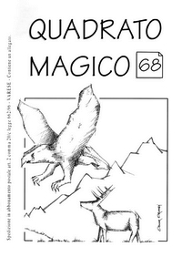 Cover of Quadrato Magico Magazine 68