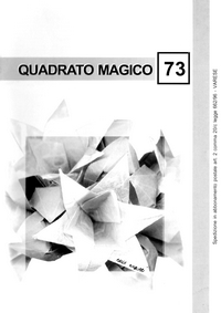 Cover of Quadrato Magico Magazine 73