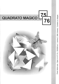 Cover of Quadrato Magico Magazine 75-076