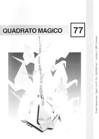 Cover of Quadrato Magico Magazine 77
