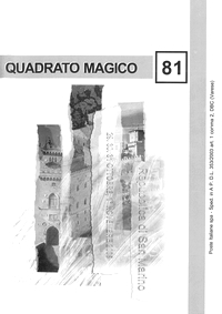 Cover of Quadrato Magico Magazine 81