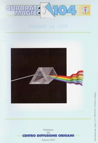 Cover of Quadrato Magico Magazine 104