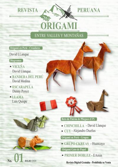 Revista Peruana Origami 1 Book Review Gilad S Origami Page