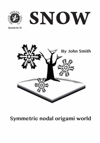 Snow: Symmetric nodal origami world book cover