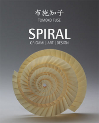 Cover of Spiral Origami Art Design by Tomoko Fuse
