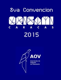 Venezuela Origami Convention 2015 book cover