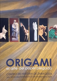 Cover of Origami el Arte del Paper Plegado by Zaragoza group