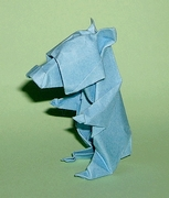 Origami Bear by Madiyar Amerkeshev on giladorigami.com