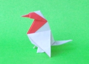 Origami Bullfinch by Madiyar Amerkeshev on giladorigami.com