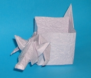 Origami Mouse box by Madiyar Amerkeshev on giladorigami.com