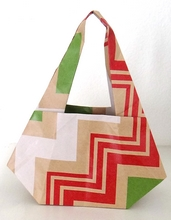 Origami Basket by Gay Merrill Gross on giladorigami.com