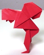 Origami Fardel bearer by George Rhoads on giladorigami.com