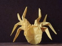 Origami Black widow by Robert J. Lang on giladorigami.com