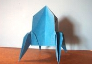 Origami Rocket by Robert J. Lang on giladorigami.com