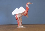 Origami Ibis - sacred by John Montroll on giladorigami.com
