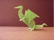Origami Dragon by Jeremy Shafer on giladorigami.com