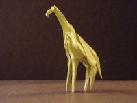 Origami Giraffe by Stephen Weiss on giladorigami.com