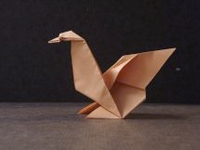 Origami Goose by Stephen Weiss on giladorigami.com
