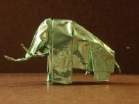 Origami Mammoth by Stephen Weiss on giladorigami.com