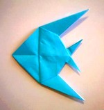 Origami Anglefish by Peter Engel on giladorigami.com