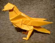 Origami Canary by John Montroll on giladorigami.com