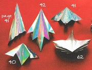 Origami Four simple fan ornaments by Anita F. Barbour on giladorigami.com