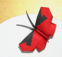 Origami Butterfly by Viviane Berty on giladorigami.com